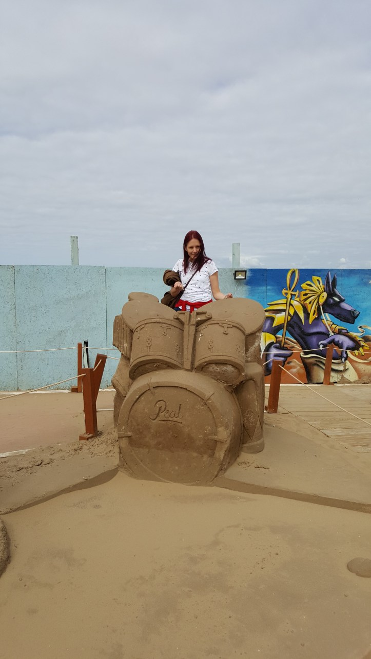 sand sculpture festival weston super mare review