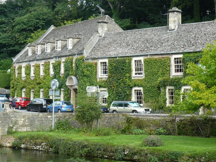 The Swan Bibury Cotswolds UK England village life pretty hot tub cottage pub accomodation hotel where to stay