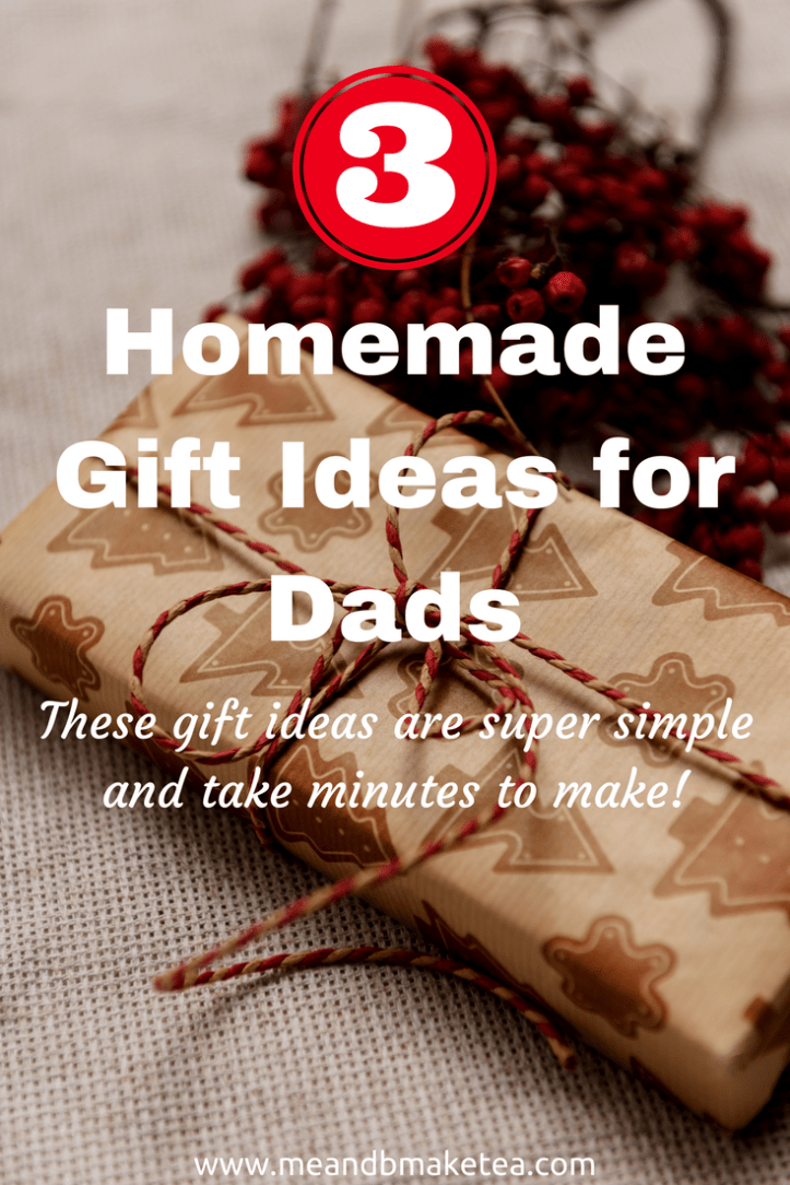 Homemade Gift Ideas for Dads and men at Christmas