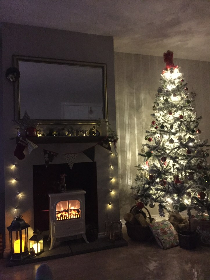 how to make your house a home hygge budget warm vintage shabby chic fairy lights