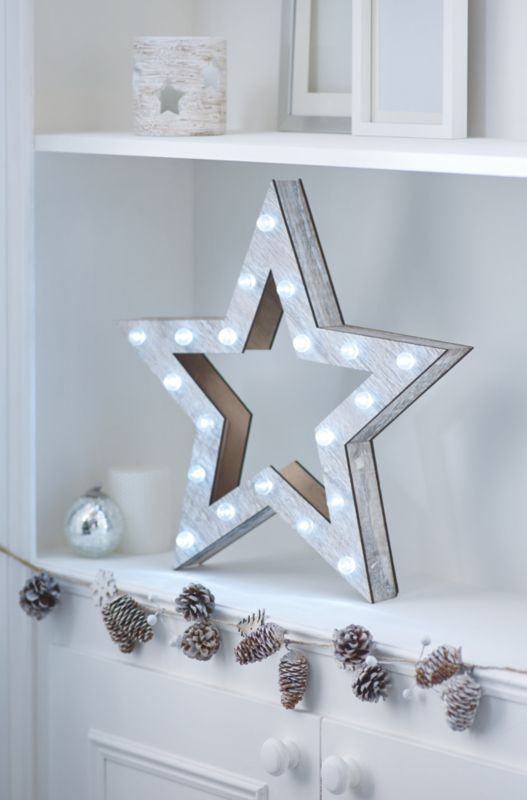 asda direct george home star white light review