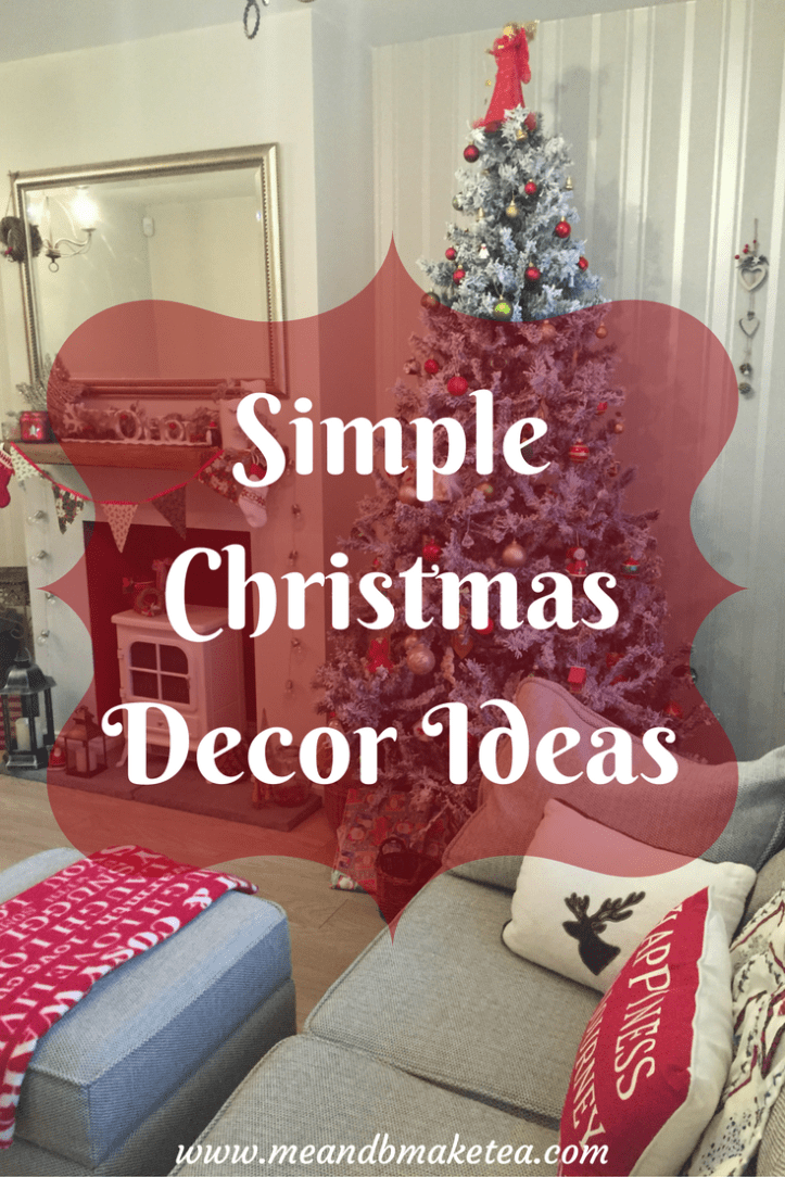 how to make you house a home christmas festive decor inspiration ideas on a budget