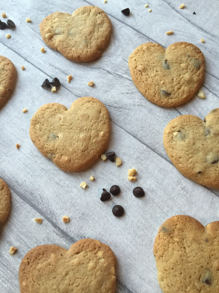 recipe for valentines cookies chocolate and nut hearts easy