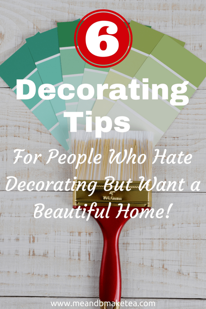 decorating ideas and tips for people with no diy skills