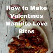 how to make valentines treats marmite love bites puff pastry pinwheel swrils
