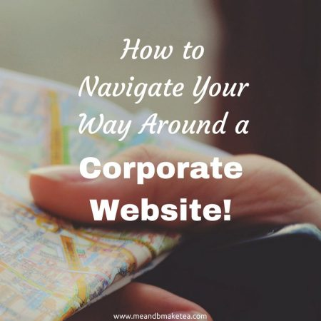 How to Navigate Your Way Around a Corporate Website (1)
