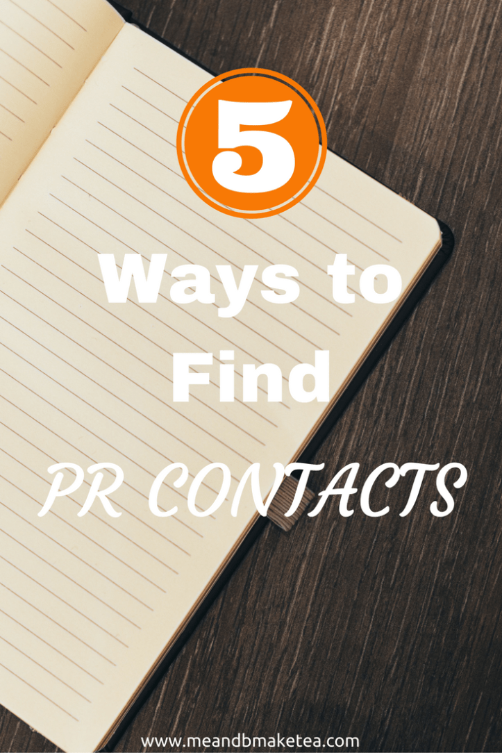 Want to find PR contacts online? Take a look at these blogging tips and tricks:
