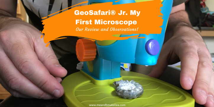 GeoSafari® Jr. My First Microscope Review and Observations! (2)
