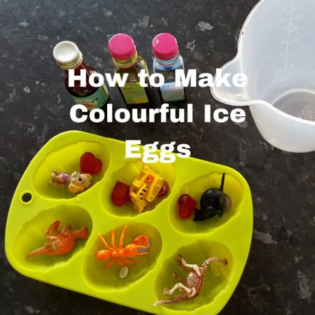 How to Make Colourful Ice Eggs - The Perfect Summer Sensory Play Activity! (2)