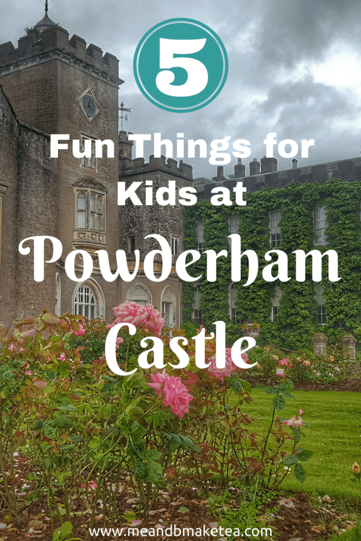 5 Fun Things for Kids to do at Powderham Castle in Devon