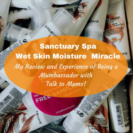 talk to mums sanctuary spa wet skin moisture miracle boots review