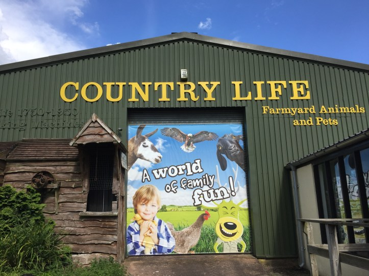World of Country Life Exmouth sign