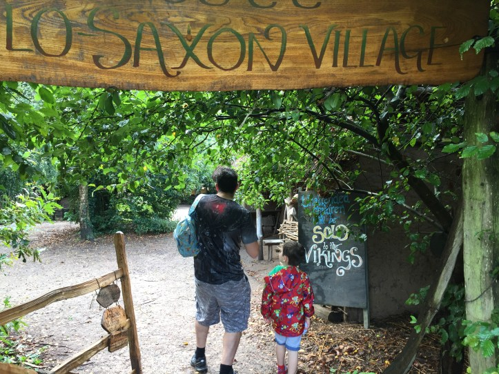 wildwood escot devon family day out saxon village