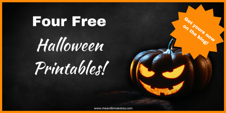 Four Free Halloween Printables Perfect for Your Home! | me and b ...