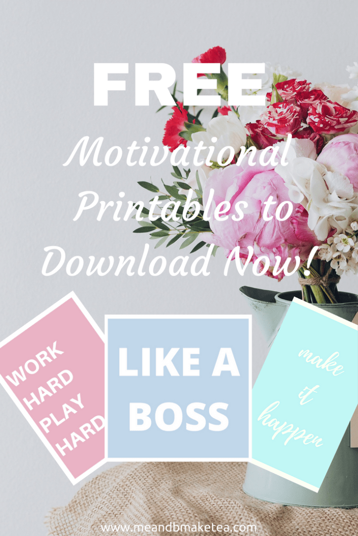 super cool printables for motivated mums