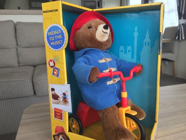 paddington bear cycling review film