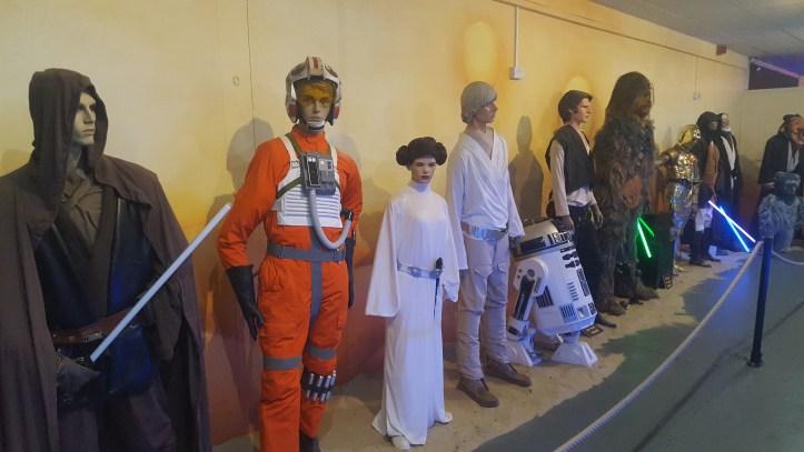 the milky way devon sci fi collection of star wars memorabilia