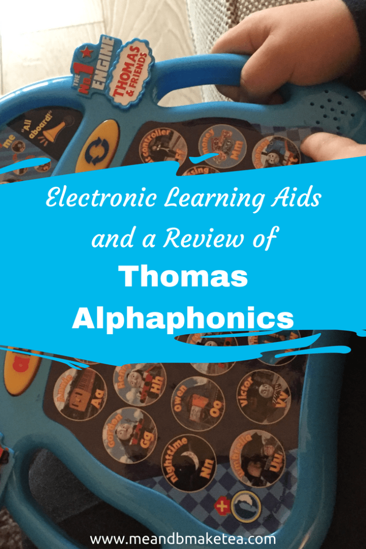 thomas and friends alphaphonics learning pad review