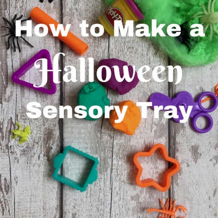 playdoh halloween sensory play ideas