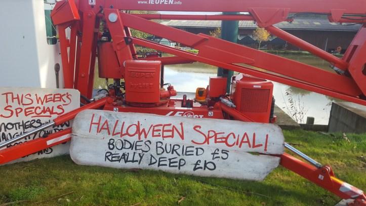 The big sheep devon amusement park halloween decorations
