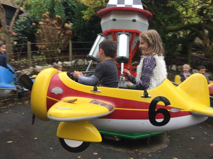 watermouth castle devon plane ride