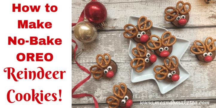 How To Make No Bake Reindeer Oreo Cookies For Christmas Chocolate Fun Food Ideas Kids