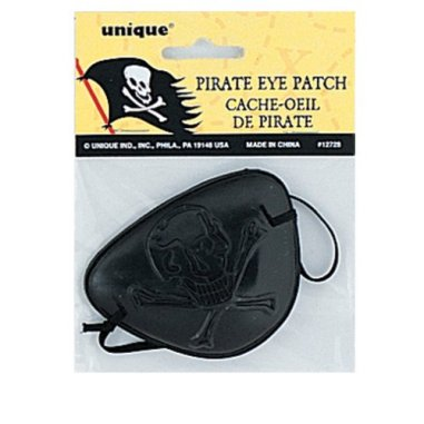 Pirate Eye Patch Party Accessory