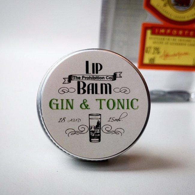 gin and tonic lip balm