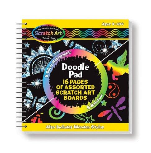 Melissa & Doug Scratch Art Doodle Pad