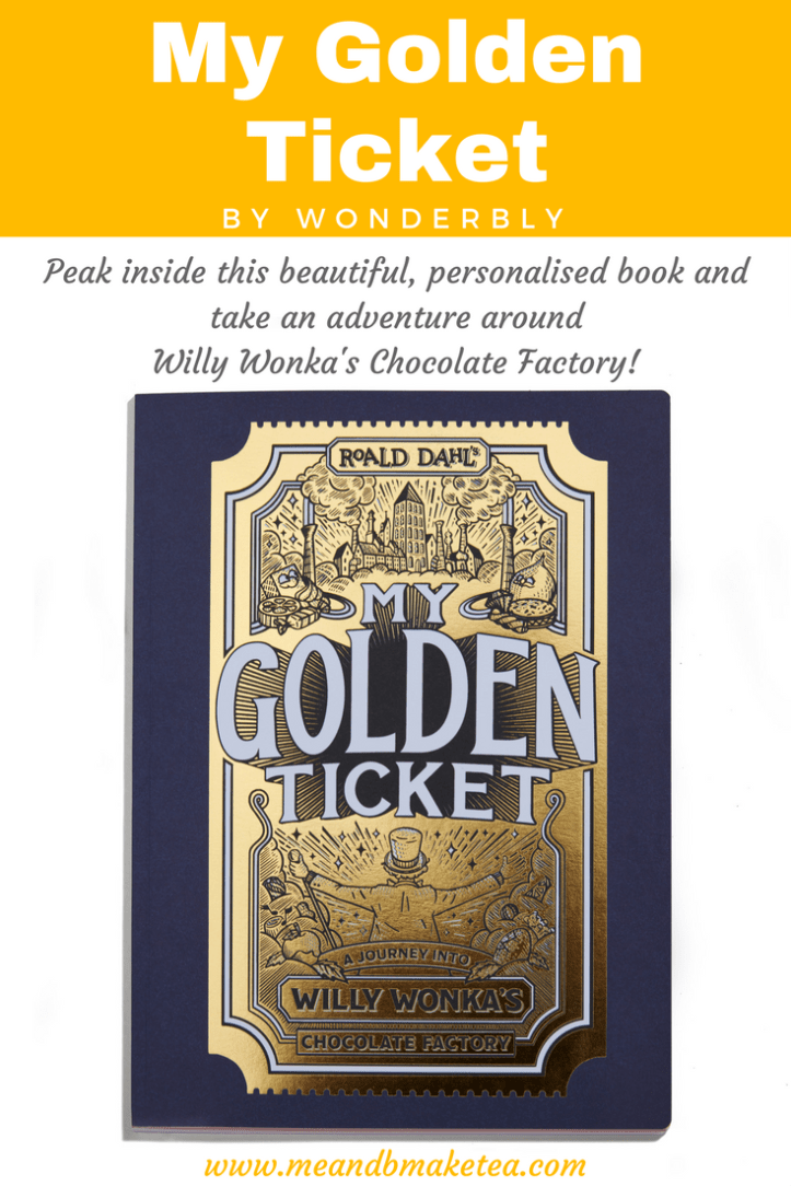 wonderbly personalised books my golden ticket