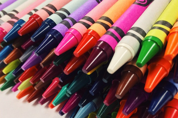 crayons for stocking filler ideas