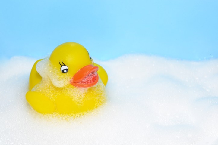 bath duck for stocking filler ideas