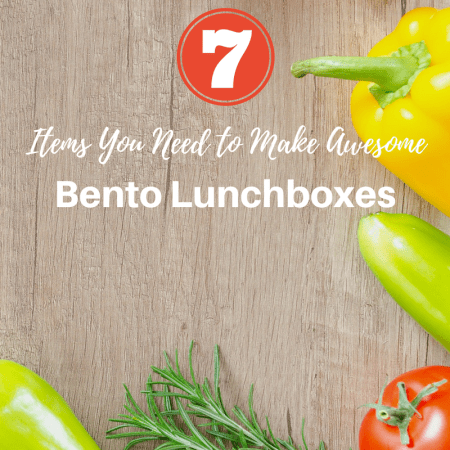 Items You Need to Make Bento Lunchboxes for Kids thumbnail