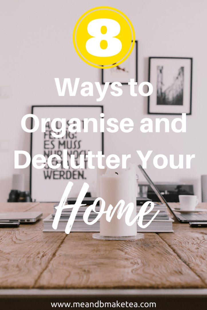 how to declutter home and house