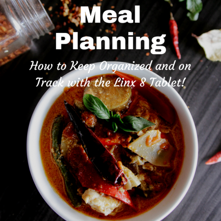 meal planning and keeping organized thumbnail