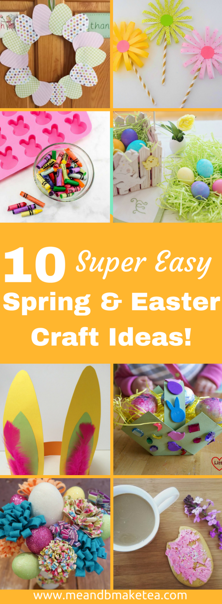 10 Easy Easter and Spring Crafts to do With Kids