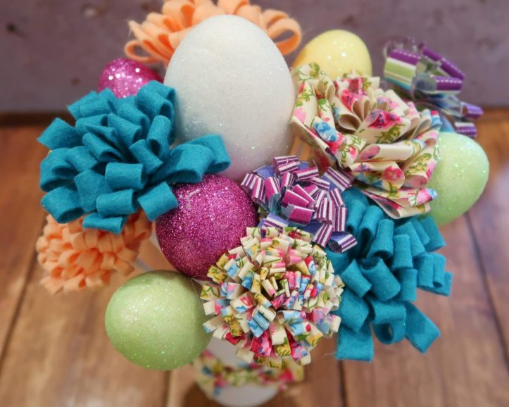 fabric flowers for easter