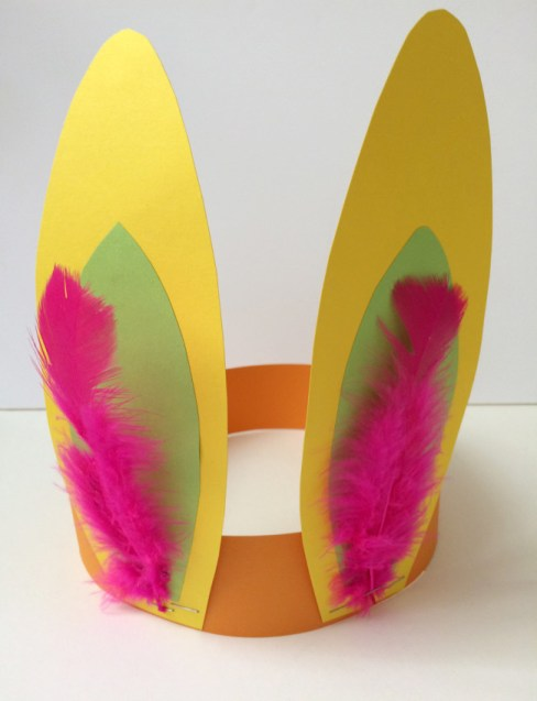 spring easter craft ideas for kids bunny ears paper