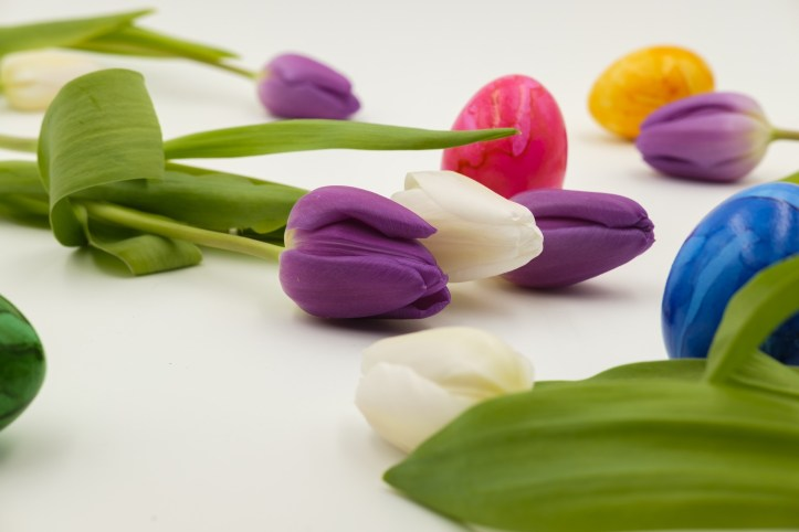 non chocolate gift ideas this easter for children kids tulips