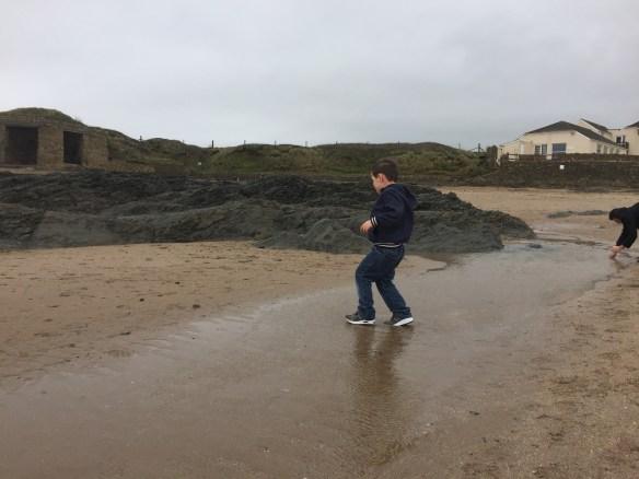 ruda holiday park devon croyde bay beach rockpools