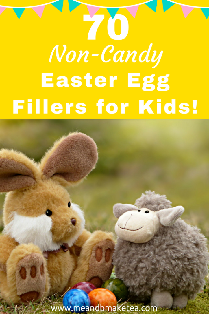 70 Non-Candy Plastic Easter Egg Fillers for Kids that are cheap and easy