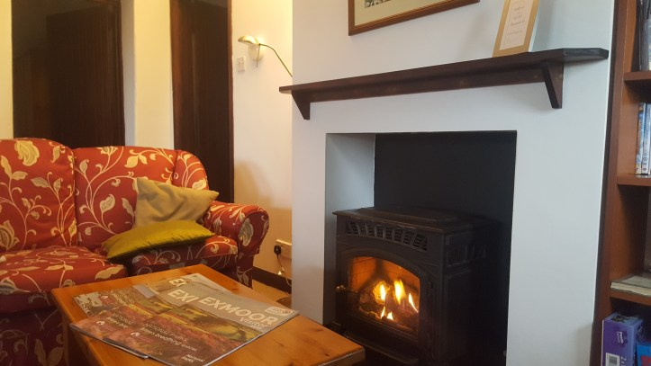 west withy farm cottages in Exmoor Devon perfect for digital detox family holiday log fire