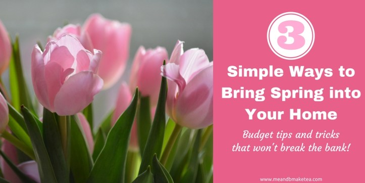 Want to get your home ready for spring and summer? On a budget? Don't want to spend too much? Take a look at how to get your home feeling spring like for literally pennies. Lots of ideas from fake flowers, fairy lights and cute decor.