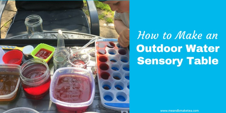Outdoor Water Sensory Table play ideas for kids twitter thumbnail