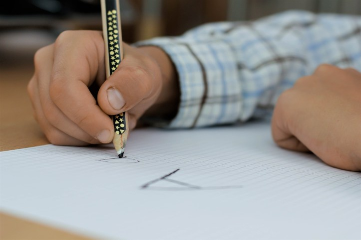 What to Expect When Your Child Starts school in reception year for the first time writing