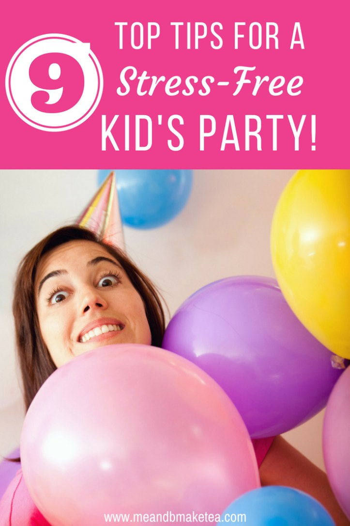 make party planning a childs birthday super easy with these tips and tricks