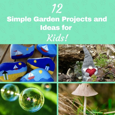 outdoor ideas for children and garden projects