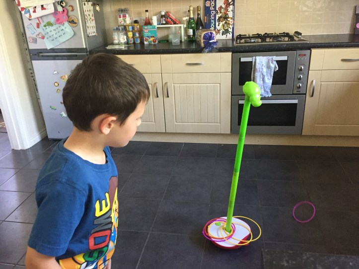 Our review of wobbly worm game by spinmaster - great for encouraging active play
