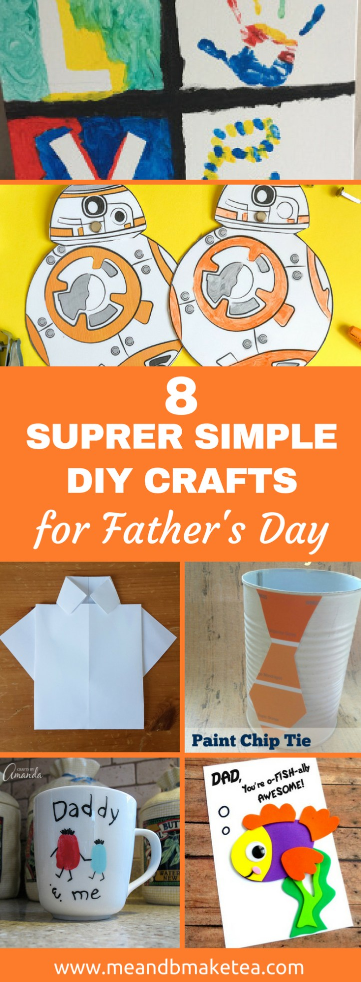 fathers day crafts that are easy to make with kids