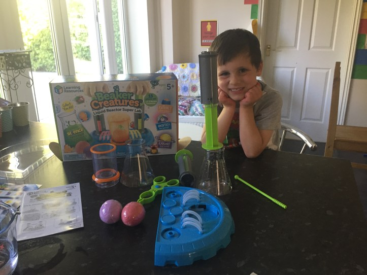 beaker creatures science stem learning fun with learning resources reactor lab